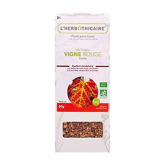 Organic red vine leaf 60 g
