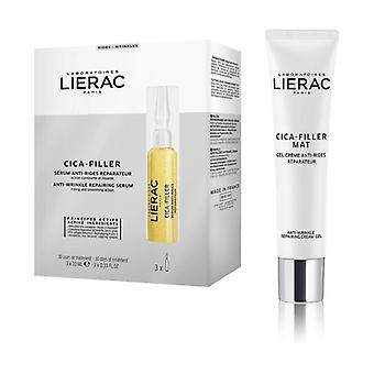 Cica-filler serum 30ml + free cream gel 40ml 1 unit