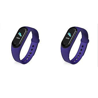 Men Women Full Touch Fitness Tracker Smartwatch
