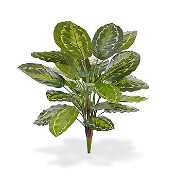 Kunstmatige Calathea Roseopicta kunstplant 65 cm boeket