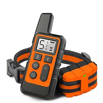 Dog Training Collar Pet Electric Remote Control Waterproof Rechargeable Tool
