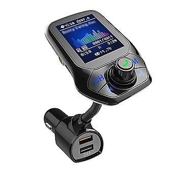 Car mp3 player multi-function bt5.0 fm transmitter dual usb chargers