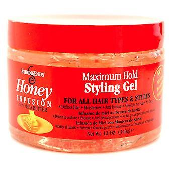 Biocare Strongends Honig Styling-Gel 340 gr-12Oz