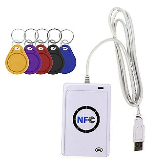 Nfc Reader Usb Contactless Smart Ic Card And Writer/copier Duplicator