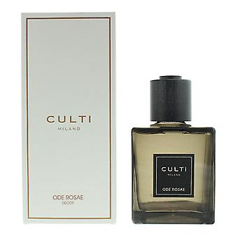Culti Milano Decor Diffuser 500ml - Ode Rosae - Sticks Not Included In The Box