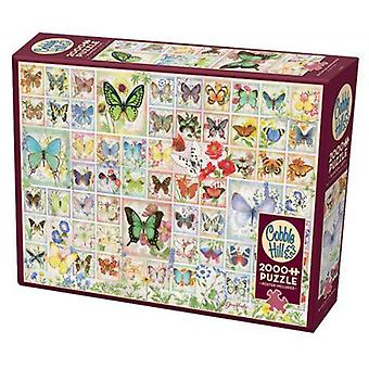 Cobble hill puzzle - butterflies and blossoms - 2000 pc