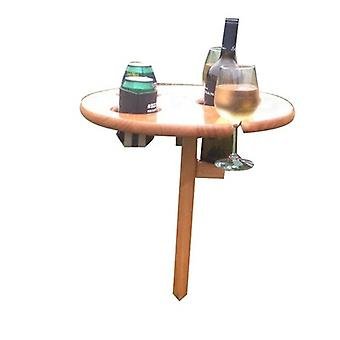 Outdoor Wine Rack, Outdoor Table With Detachable Table