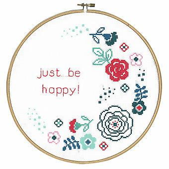 Vervaco Counted Cross Stitch Kit: Moderne bloemen