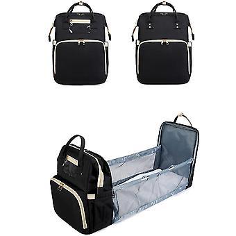 Bolso de mamá, bolsa de pañales para bebés, bolsa de gran capacidad