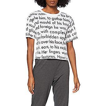 Calvin Klein S/S Crew Neck_Shirt T, Women In Love, S Donna