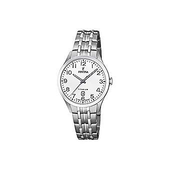 Festina Analog Quartz Watch Woman with Titanium Strap F20468/1