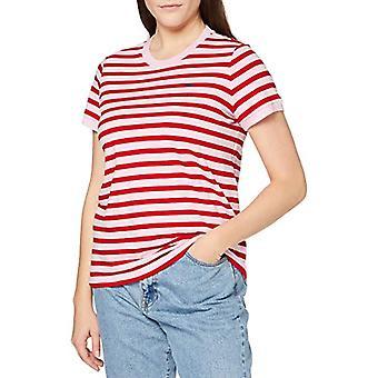 Lee Yarn Dye Stripe Tee T-Shirt, Frost Pink, XS Woman