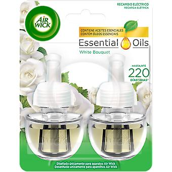 Air Wick White Bouquet Electric Air Freshener 2 refills