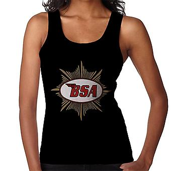 BSA Red Logo Gold Badge Women's Vest