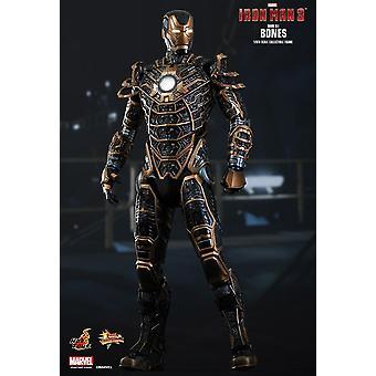 Iron Man Mark XLI Bones Version Poseable Figure from Iron Man 3