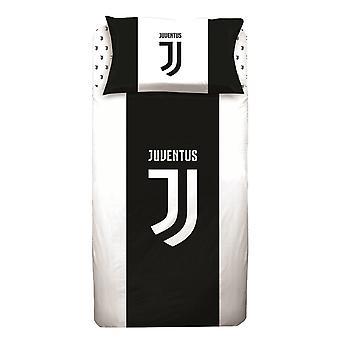Juventus enkeltäcke och örngott set - europeisk storlek
