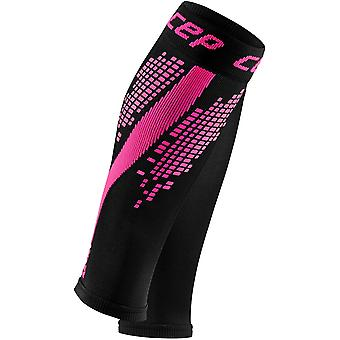 CEP Nighttech Men's Compression Calf Sleeves, Pink - Size IV