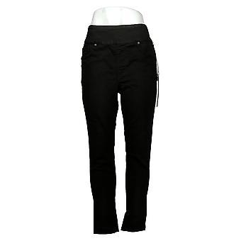 DG2 by Diane Gilman Women's Jeans Waist Ultra Skinny Jegging Black 733923