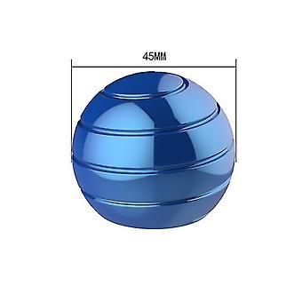 45Mm כחול נתיק שולחן מסתובב הכדור העליון, קצות האצבעות מסתובב העליון, צעצוע לחץ az6327