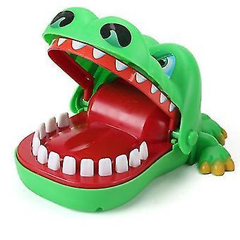 التمساح لدغة الأسنان إصبع الأطفال لعبة الأم والطفل لعبة الجدول az19485