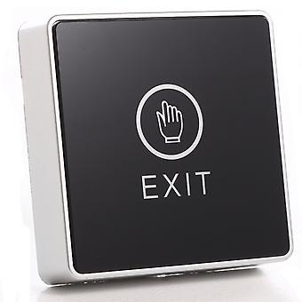 Musta kosketuspainike 12v Nc No Door Exit Release Button Switch