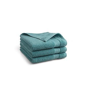 Seashell Hotel Collectie Handdoek - Jeans blauw - 3 stuks - 50x100cm