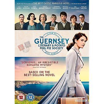 Guernsey litterära och potatisskal paj samhälle DVD