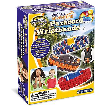 Brainstorm Toys Outdoor Adventure Paracord Wristbands