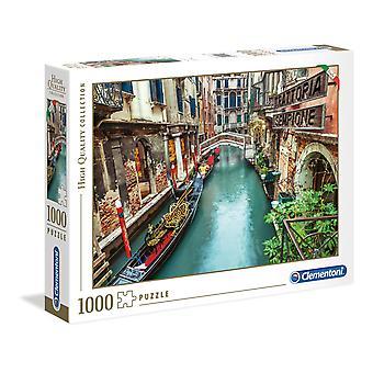 Clementoni Venice Canal Puzzle de haute qualité (1000 pièces)