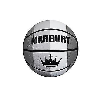 Kleurrijke regenboog paneel verordening mini rubber basketbal voor training schieten (GROUP2)