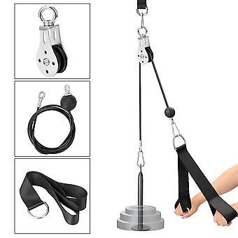 Fitness diy pulley cable máquina de fijación sistema de carga pin lifting