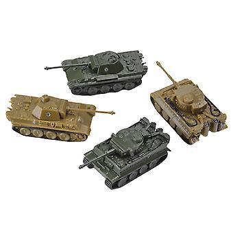 4 stk/sett 1:144 vekt tank leketøy