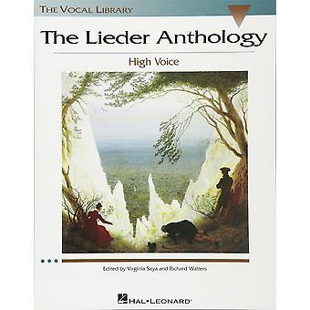 La Antología de Lieder 073999614817 Vocal