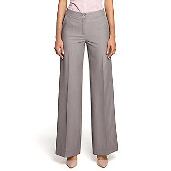 Made Of Emotion Women's M323 Casual Pants