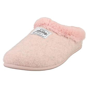 Mercredy Slipper Pink Womens Slippers Shoes in Pink