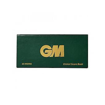 Gunn & Moore GM Accessories 60 Innings Round Scorebook Game Analysis