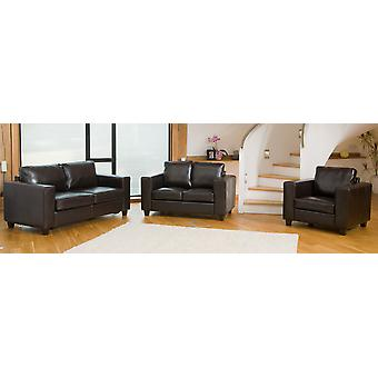 Frieda Leather Tub Sofa In Choice Of Colours