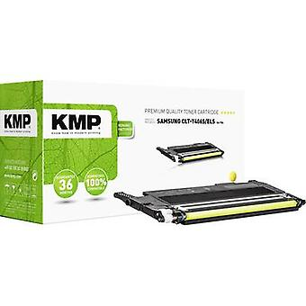 Cartucho de tóner KMP reemplazó a Samsung CLT-Y406S Compatible Amarillo 1000 Lados SA-T56