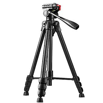 60'' Camera Tripod With Bluetooth Remote, Phone Mount And Storage Bag