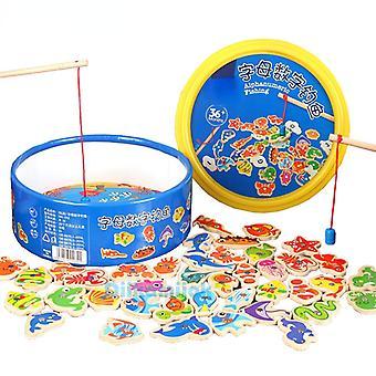 Kinderspielzeug, Magnetisches Angelspielzeug, Babyzahlen und Buchstaben, Kinderspielzeug