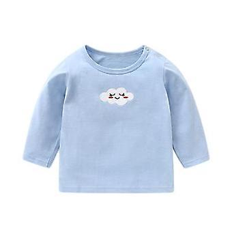 Roupas de bebê camiseta de manga comprida Top camisa