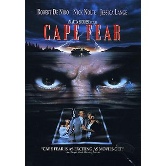 Cape Fear (1991) [DVD] USA import