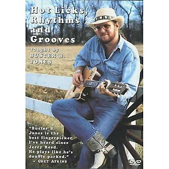 Jones, Buster B. - Hot Licks Rhythms & Grooves [DVD] USA import