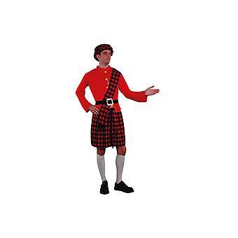 Scottish costume Scotland Scottish kilt costume mens Gr. L