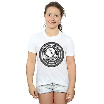 Looney Tunes Girls Porky Pig That's All Folks T-Shirt