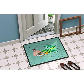 Carolines Treasures  8345-MAT Merman  Indoor or Outdoor Mat 18x27 8345 Doormat