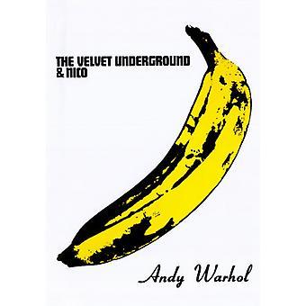 Den Velvet Underground & Nico (banan) affisch Skriv av Andy Warhol (24 x 36)