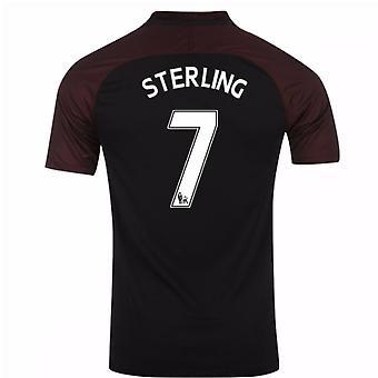 2016-17 Manchester City Away Shirt (Sterling 7) - Kids