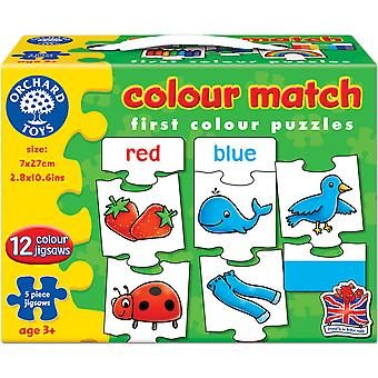 Orchard Toys Farbe Match