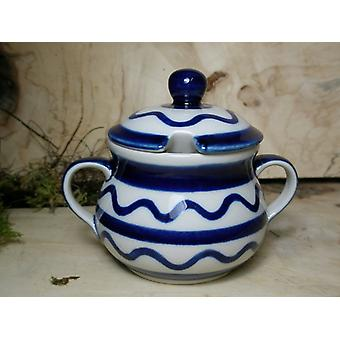 Sugar Bowl, 200 ml, 29, traditional polish pottery - BSN 22141